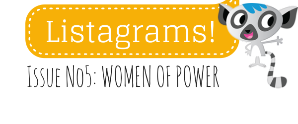 Headline for Listagrams from Listly #5 - Ladies who List