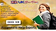 Online Assignment Tutoring Help Experts |UK Best Tutors
