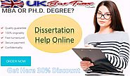 Dissertation Writing Help Services| Find Online Dissertation Writers UK