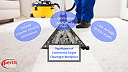 The Significance of Commercial Carpet Cleaning in Workplace