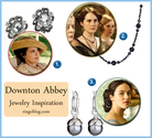 Favorite Downton Abbey Inspired Jewelry