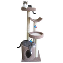 Molly and Friends Four Tiered Cat Tree