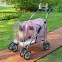 5th Ave Pet Stroller SUV Pink