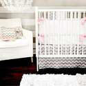 Best Pink Chevron Baby Bedding for Girls - Reviews for 2014. Powered by RebelMouse