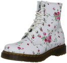 Dr. Martens Women's 1460 Re-Invented 8 Eye Lace Up Boot - White Port Rose