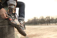 Floral Combat Boots 2014 - Best Reviews