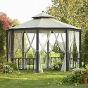 Octagon Gazebo- Simply Outdoors-Outdoor Living-Gazebos, Canopies & Pergolas-Gazebos