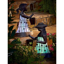 Solar Garden Girl with Ponytail- Garden Oasis-Outdoor Living-Outdoor Decor-Lawn Ornaments & Statues