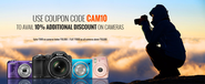 Buy Cameras with Additional 10% Discount