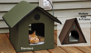 K&H Outdoor Heated Kitty Houses|Cat Shelters at DrsFosterSmith.com