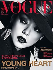 Vogue Japan Magazine - October 2018