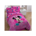 Disney's Minnie Mouse Full Comforter & Sheet Set (5 Piece Bedding)