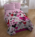 "Disney Minnie Classic ""Remix"" Sheet Set, Twin"