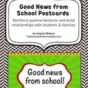 FREE Good News From School Postcards!