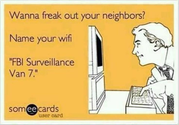 Freak out your neighbor