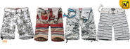 Do you want to be a sunshine boy? Camo cargo shorts are your best choice