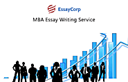 Custom MBA Essay Writing Service, MBA Essay Examples & samples