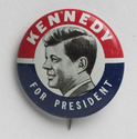 'Kennedy for President' Campaign Button - John F. Kennedy Presidential Library & Museum