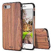 iPhone 7 Case, BELK [Air To Beat] Non Slip Soft Wood Slim Bumper, Scratch Resistant Grip Ultra Light TPU Snap Back Co...