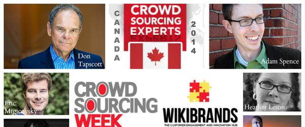 Headline for Top 10 Crowdsourcing Experts – Canada