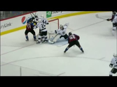 Jones robs Landeskog with blocker save