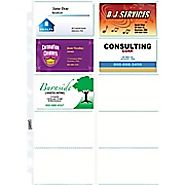 Staples Untabbed Business Card Pages, 10 pack, 10\/Pack (15934) | Staples®
