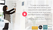 Claire Jefford – Interior Decorator, Business Coach & Vlogger. Burlington, Ontario