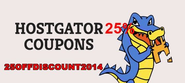 Hostgator Coupon for March 2014: Exclusive 25% Discount on Hosting