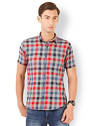 Check Shirts for Men | Checkered Shirt | Buy Men's Checked Shirts Online