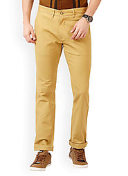 Slim Fit Trousers | Mens Casual Trousers | Casual Pants for Men Online