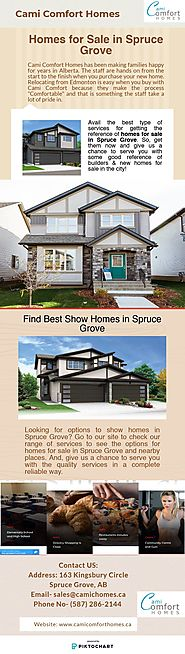 Purchase New House in Spruce Grove at Best Price- Contact us