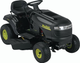 Poulan PO17542LT-CA 42-Inch 17-1/2 HP Briggs and Stratton Riding Lawn Tractor With 6-Speed Transmission CARB Compliant