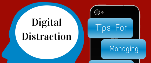 Headline for Digital Distraction Management Tips