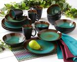 Reactive Glaze Dinnerware for the Table