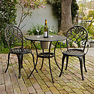 Best Cast Aluminum Outdoor Patio Bistro Furniture Sets - Reviews::Patio-furniture-accessories