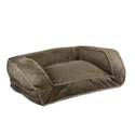 Snoozer Contemporary Pet Sofa, Large, Coffee/Peat