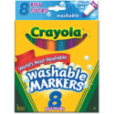 Crayola Bold Colors Washable Markers - Walmart.com