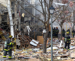 One killed, at least 7 hurt as blast devastates townhouses