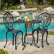 Best-Rated Outdoor Patio Bistro Sets With Built-in Ice Bucket - Reviews :: Patio-furniture-accessories
