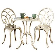 Best Cast Aluminum Outdoor Patio Bistro Sets – Reviews - Outdoor Patio Bistro Sets