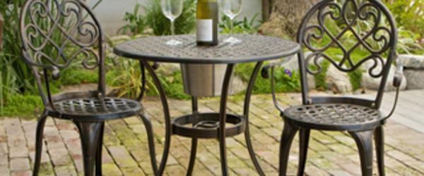 Headline for Best Cast Aluminum Outdoor Patio Bistro Furniture - Conversation Sets