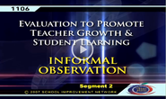 Best Foot Forward-Video enhancing teacher observation