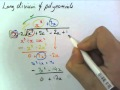 3B - Long Division of Polynomials