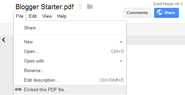 Package Posts Into PDF Files And Share On Document Sites