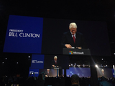 Twitter / SharePointWendy: President Bill Clinton #keynote ...