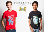 Young Social Entrepreneur Launches Paper Toy Clothing and Feeds Other Kids - Cause Artist
