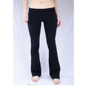 Basic House Women's Fold over Waist Solid and Contrast Lounge Pants