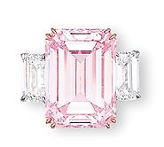 The Perfect Pink, a Fancy Intense rectangular pink diamond, 14.23 carats Sold for $23,165,968 in 2010
