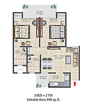 Nirala Aspire Floor Plan, Noida Extension – Nirala India