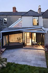 Futuristic Home Extension